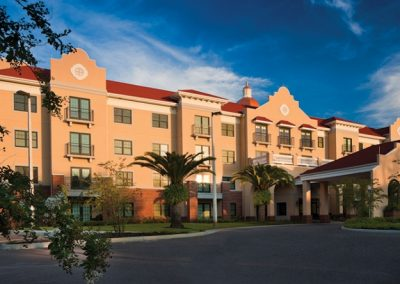Entrance of The Estates at Carpenters in Lakeland, Florida.