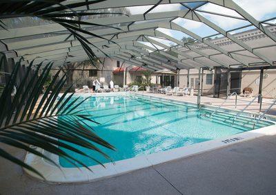 Pool at The Estates at Carpenters in Lakeland, Florida.